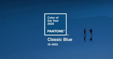 Classic Blue – the color of 2020