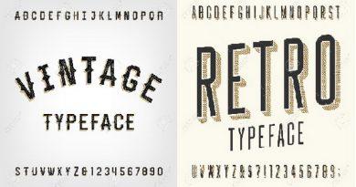 Vintage and retro compare